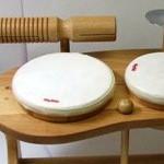 木のおもちゃ リズムポコ ドラムセット