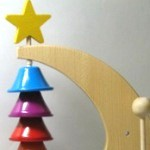 木のおもちゃ リズムポコ クレッセントベル