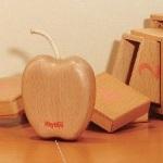 木のおもちゃ リズムポコ アップルシェーカー