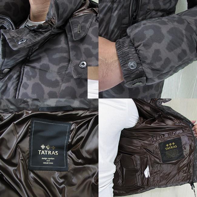 TATRAS タトラス ダウン メンズ フード付き ダウンジャケット アウター