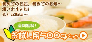 お試し用 白米 産直米