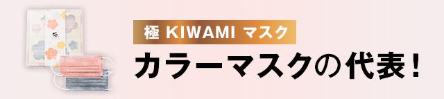 極 KIWAMI マスク カラーマスクの代表!