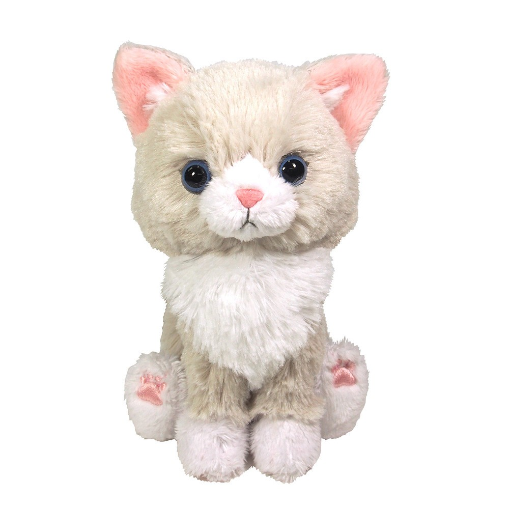手のひらサイズのかわいいネコのぬいぐるみ〜Kitten(キトン)