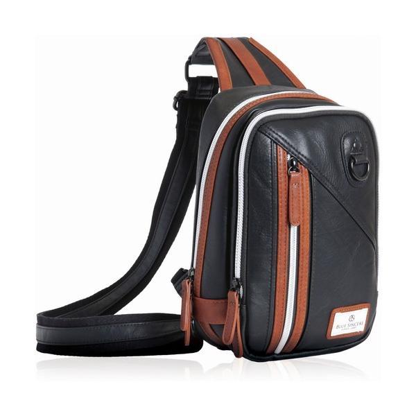 ボディバッグ メンズ ショルダーバッグ 斜めがけ バック 小さめ 大容量 革 ブランド RFIDスキミング防止 ポイント消化 magokoroya-yahuu 22