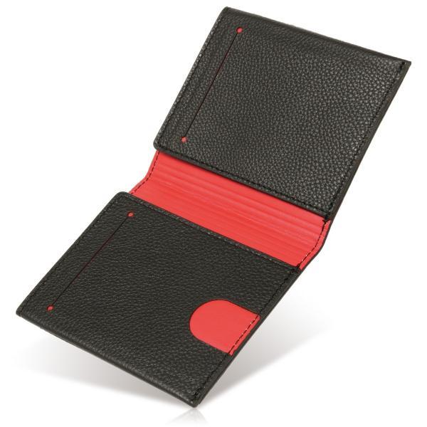 1位獲得 マネークリップ 財布 本革 カードケース メンズ 薄型0.5mm ブランド 二つ折り 定期入れ パスケース 札入れ 札ばさみ ミニマリスト 免許証入れ|magokoroya-yahuu|19