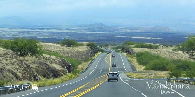 ハワイ島の景色