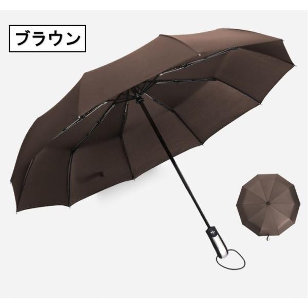折りたたみ傘 折り畳み傘 ワンタッチ 自動開閉 撥水加工 丈夫 大きい 晴雨兼用 メンズ レディース maiduruhonpo 12