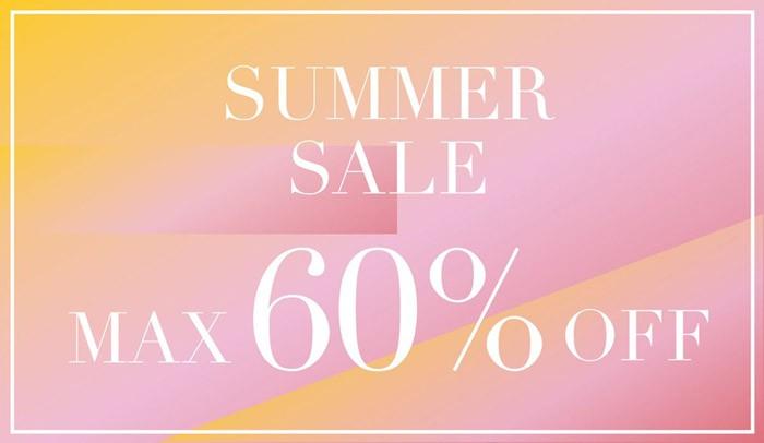 さあ夏だ!SALE MAX60%OFFページ