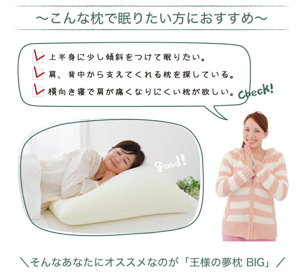 こんな枕で眠りたい方におすすめ