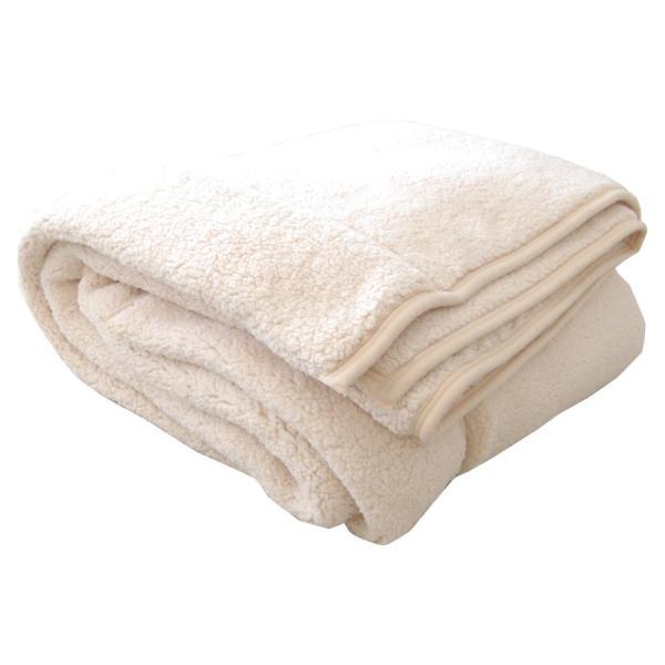 毛布 暖かい シングル 2枚合わせ もこもこ毛布 シープ 140×200|makura|14