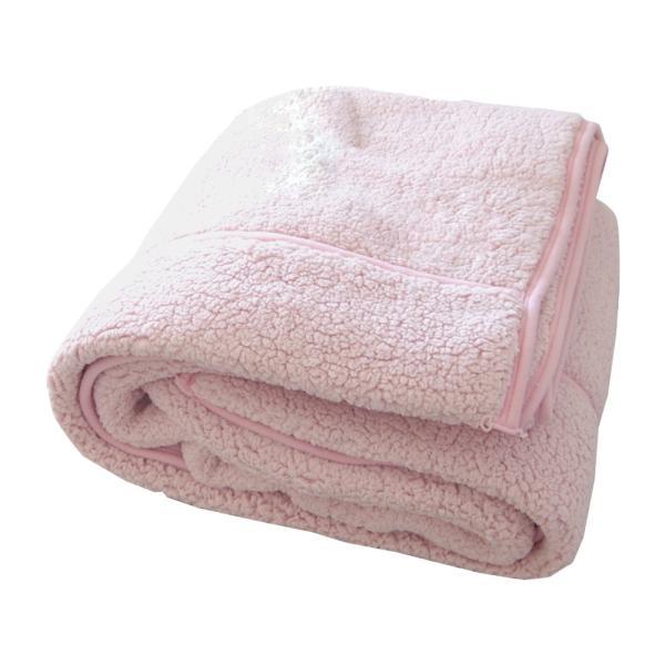 毛布 暖かい シングル 2枚合わせ もこもこ毛布 シープ 140×200|makura|15