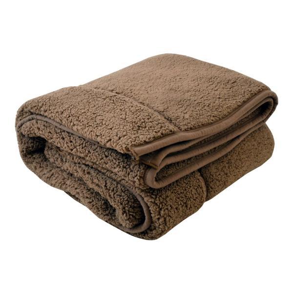 毛布 暖かい シングル 2枚合わせ もこもこ毛布 シープ 140×200|makura|16