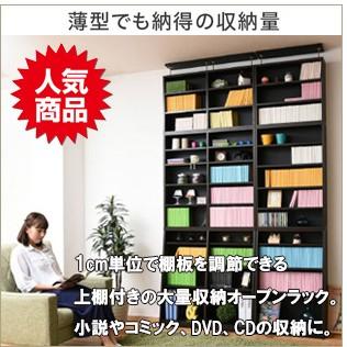 突っ張り書棚