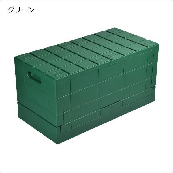 収納ボックス 収納ケース フタ付き おしゃれ 屋外 プラスチック アイデア コンテナボックス アウトドア用品 本収納 書類整理ケース ( グリッドコンテナー )|mamachi|15