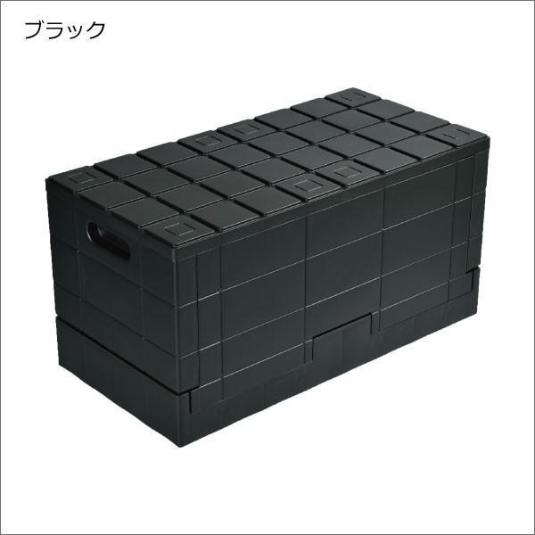 収納ボックス 収納ケース フタ付き おしゃれ 屋外 プラスチック アイデア コンテナボックス アウトドア用品 本収納 書類整理ケース ( グリッドコンテナー )|mamachi|16