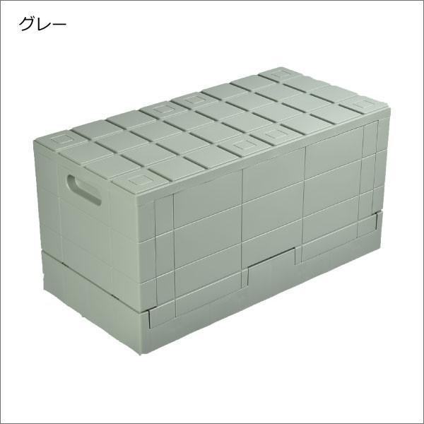 収納ボックス 収納ケース フタ付き おしゃれ 屋外 プラスチック アイデア コンテナボックス アウトドア用品 本収納 書類整理ケース ( グリッドコンテナー )|mamachi|18