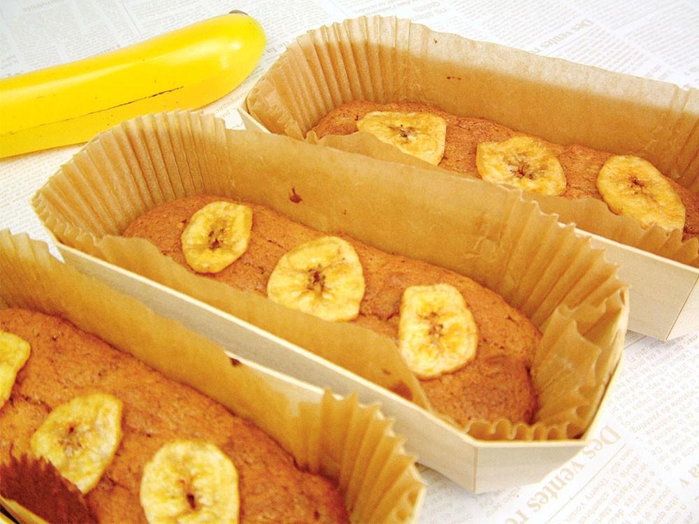 バナナ パウンドケーキ