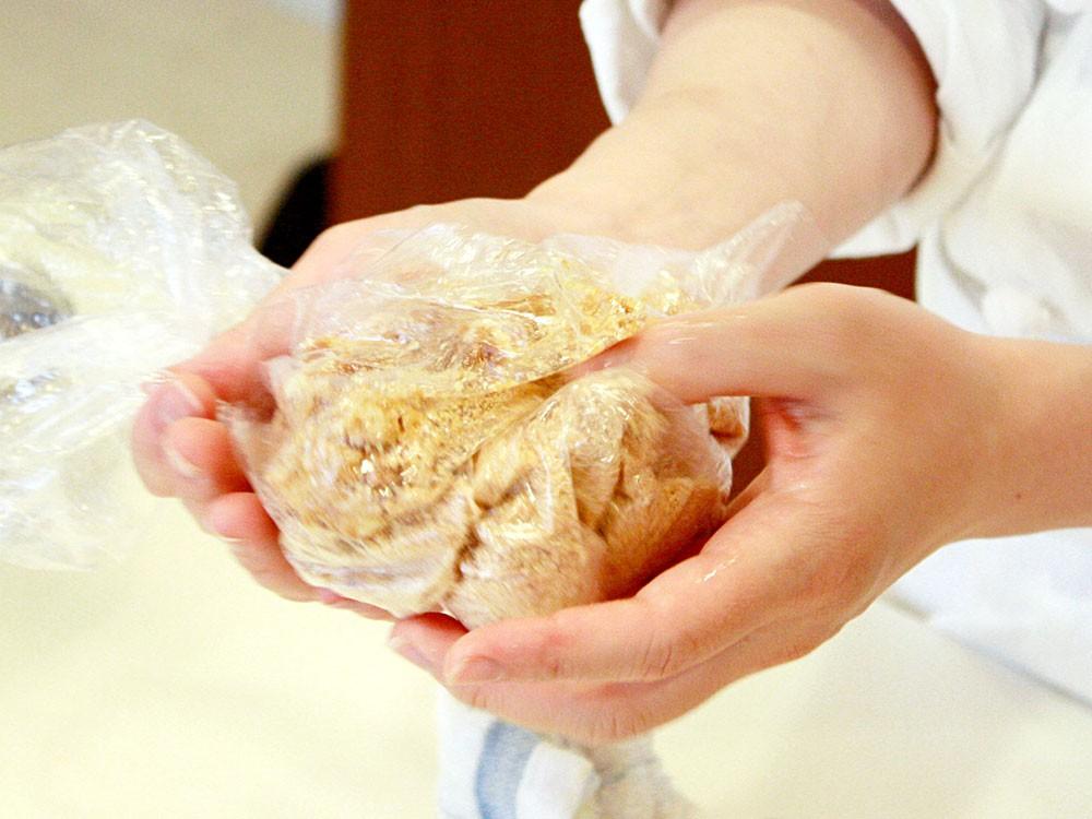 リュクスで作るレア・チーズケーキ