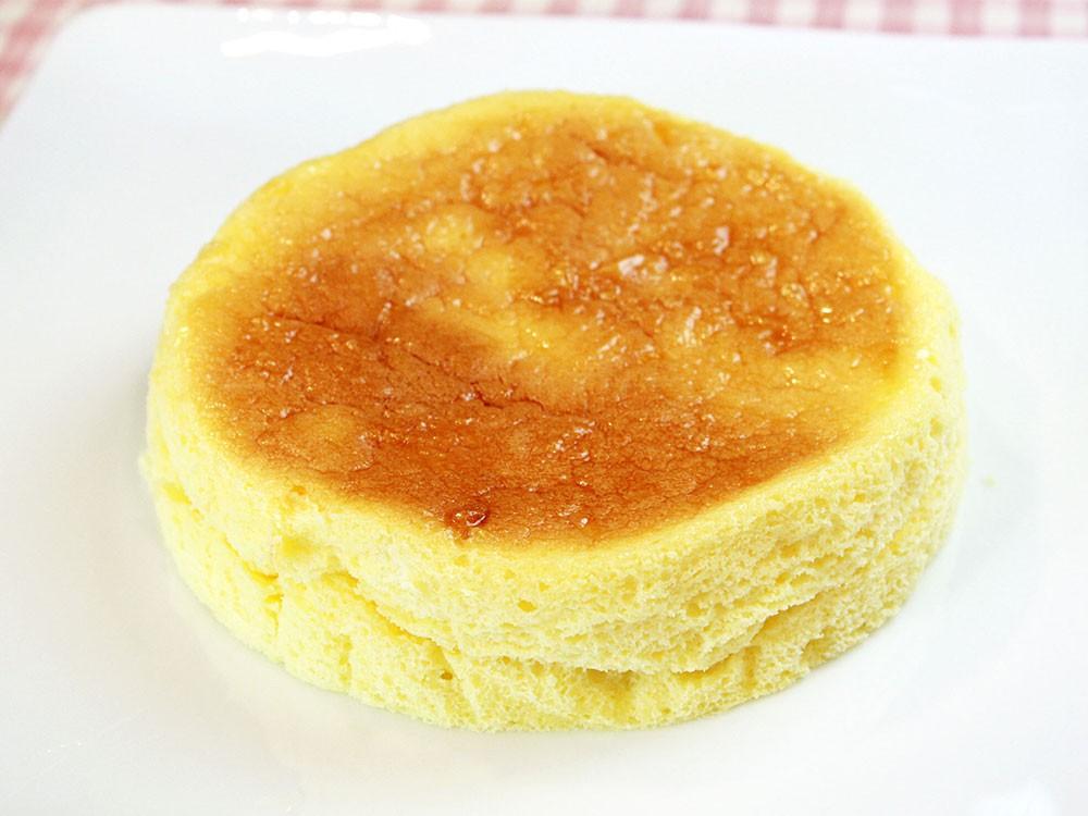 キリで作るスフレチーズケーキ
