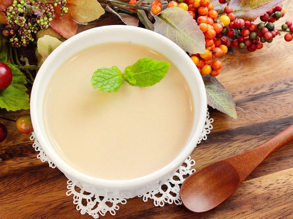 紅茶のとろりんパンナコッタ