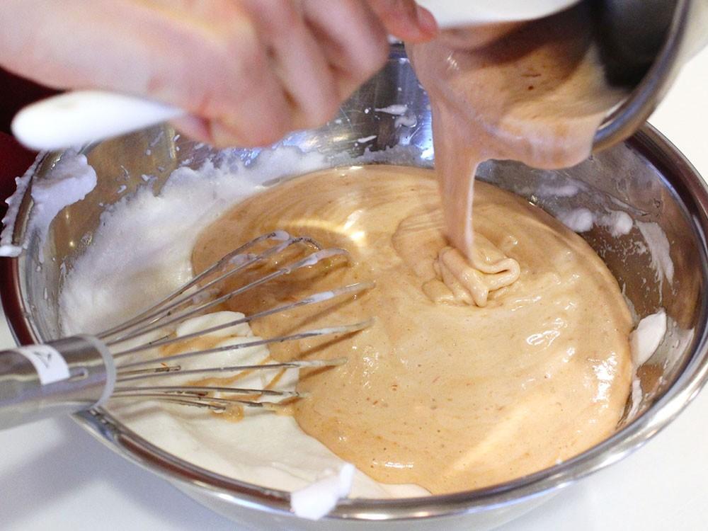 さくらのシフォンケーキ