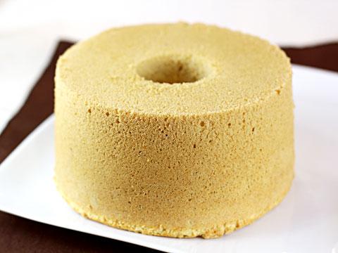 ライ麦のしっとりシフォンケーキ