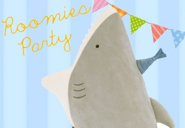 ルーミックパーティーサメ抱き枕
