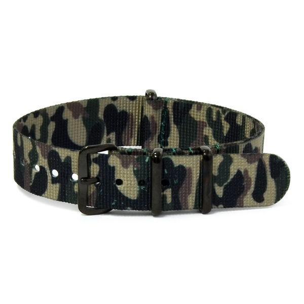腕時計ベルト バンド 交換 ナイロン 22mm 20mm 18mm CASSIS TYPE NATO IP 141601B|mano-a-mano|18