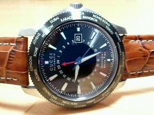 時計ベルトをモレラートのPLUSに交換したグッチG-タイムレス コレクション