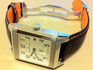時計ベルトをモレラートのバイキングに交換したJAEGER LE COULTRE