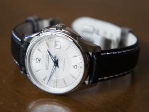 時計ベルトをモレラートのバイキングに交換したハミルトン ジャズマスタ-ビュ-マチック