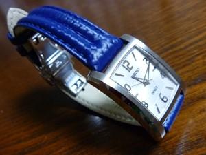 時計ベルトをモレラートのSPEEDに交換したSEIKO DOLCE