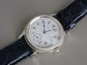 時計ベルトをモレラートのAMADEUSに交換したハミルトン