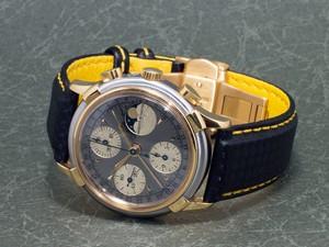 時計ベルトをモレラートのバイキングに交換したオーガスト・レイモンド ref. #78790