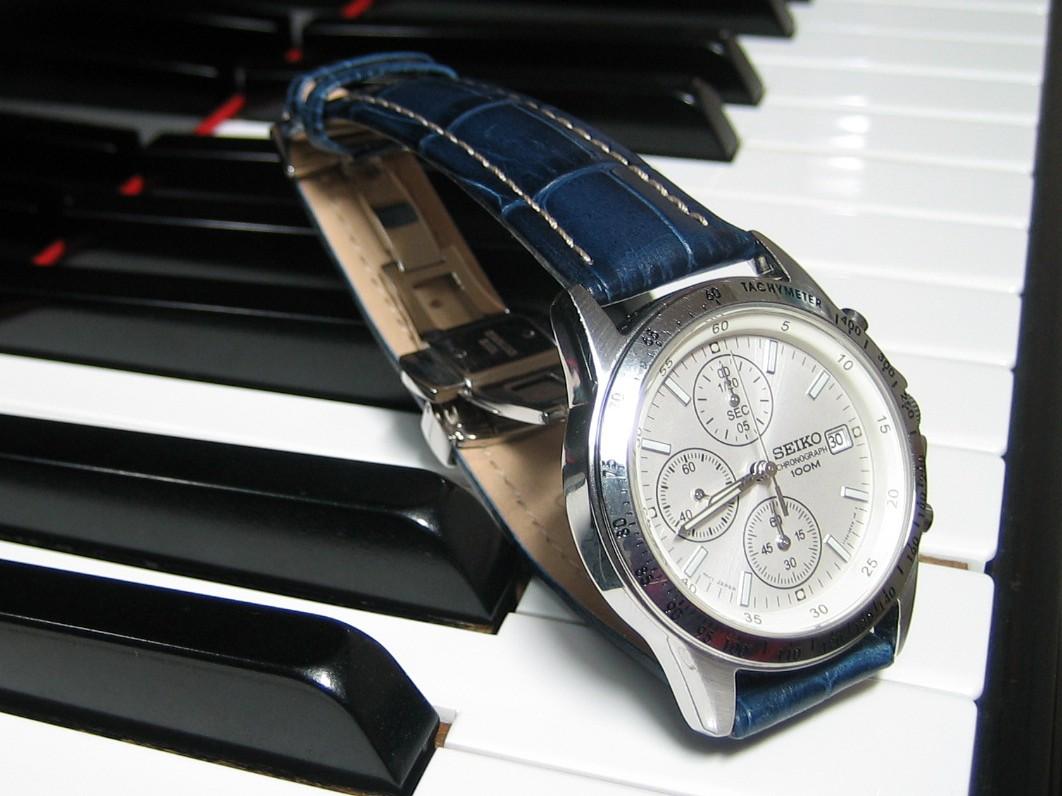 時計ベルトをモレラートのPLUSに交換したセイコー SND363PC