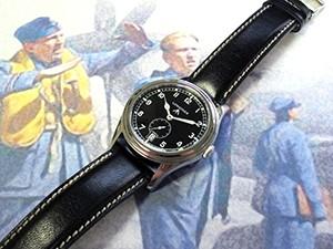時計ベルトをモレラートのエリートに交換したロンジン・ヘリテージ・レジェンドミッション