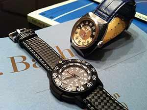 時計ベルトをモレラートのボーレに交換したTRANS CONTINENTS TC shutter