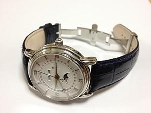 時計ベルトをモレラートのSAMBAに交換したモーリス・ラクロア マスターピース37757