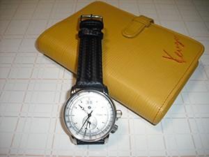 時計ベルトをモレラートのSPEEDに交換したツェッペリン ZE 7640-1