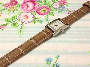 時計ベルトをモレラートのボーレに交換したCOACH