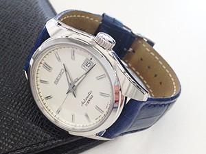 時計ベルトをモレラートのボーレに交換したSEIKO(SARB 035)