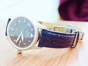 時計ベルトをモレラートのAMADEUSに交換したIWC MARK15 SPITFIRE