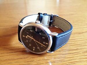時計ベルトをモレラートのABETEに交換したIWC ポートフィノ