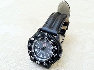 時計ベルトをモレラートのSPEEDに交換したLUMINOX 3000シリーズ