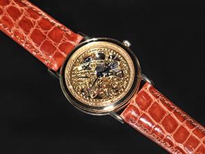 時計ベルトをモレラートのAMADEUSに交換したセイコー クレドール GBBD998