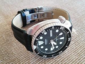 時計ベルトをモレラートのSPEEDに交換したSEIKO 6309 7040