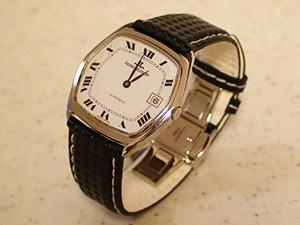 時計ベルトをモレラートのバイキングに交換したJAEGER-LECOULTRE AUTOMATIC