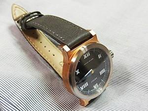 時計ベルトをモレラートのABETEに交換したINTERIMLAMBWATCH/IDLER Single-hand