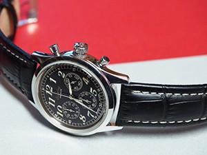 時計ベルトをモレラートのPLUSに交換したBREITLING PREMIER