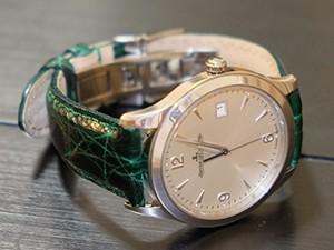時計ベルトをモレラートのアマデウスに交換したJaeger-LeCoultre Master Control